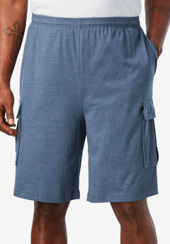 Lightweight Jersey Cargo Shorts,