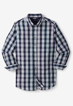 Wrinkle Resistant Long-Sleeve Sport Shirt,