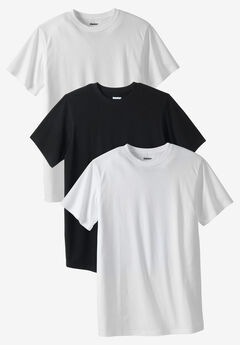 Cotton Crewneck Undershirt 3-Pack,