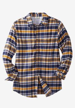 Lightweight Flex Flannel Shirt by Liberty Blues®,