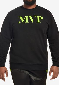 MVP Collections® Neon Logo Sweatshirt,