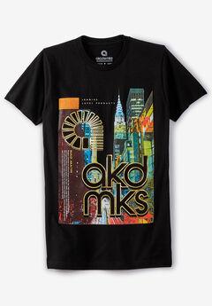 Akademiks® Cityscape Graphic T-Shirt ,