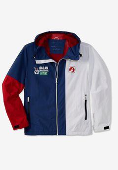 Nautica® Colorblock Raincoat,