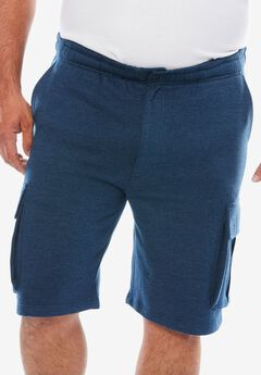 Fleece Cargo Shorts,
