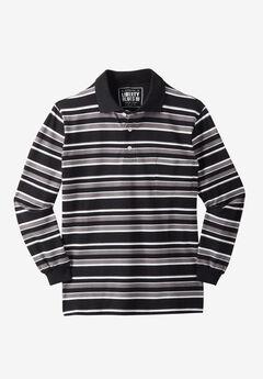 Liberty Blues® Long-Sleeve Polo Shirt ,