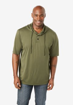 Boulder Creek® Hooded Henley,