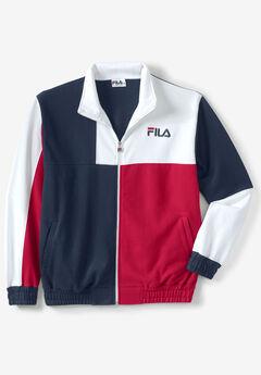 Fleece Track Jacket by FILA®,