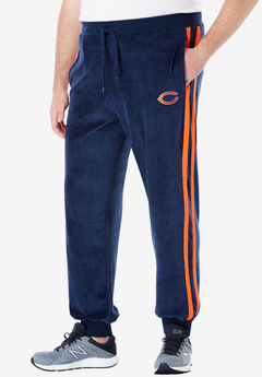 NFL® Velour Track Pants , BEARS