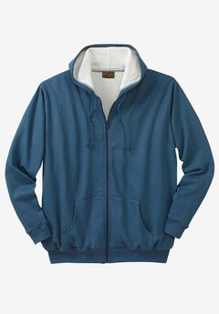 Thermal Lined Full-Zip Hoodie by Boulder Creek®,