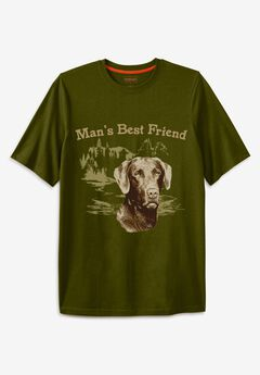 Boulder Creek® Nature Graphic Tee,
