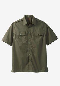 Short Sleeve Pilot Shirt by Boulder Creek®,