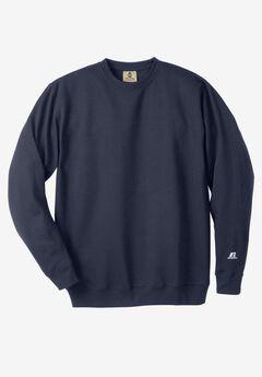 Long-Sleeve Fleece Crewneck Sweatshirt,