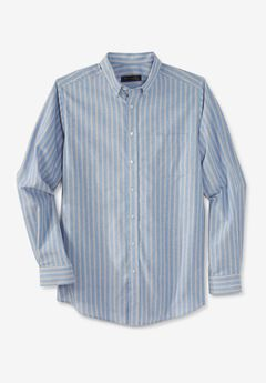 KS Signature Wrinkle-Resistant Oxford Dress Shirt,