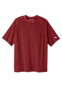 Tech Crewneck Tee by KS Sport™,
