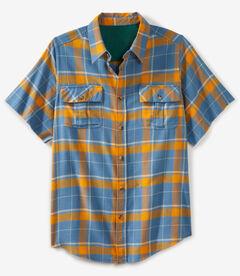 Liberty Blues® Cut-off Short-Sleeve Flannel,
