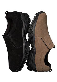 Suede Slip-On Walking Shoe,