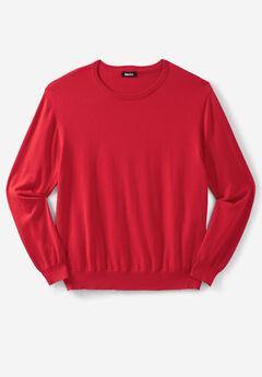 Pima Crewneck Sweater,