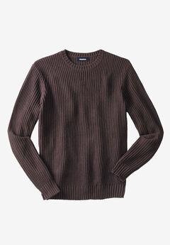 Knit Crewneck Sweater,
