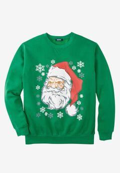 Festive Fleece Crewneck,