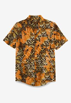 KS Island Tropical Rayon Short-Sleeve Shirt,