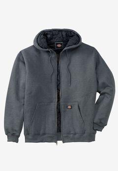 Heavyweight Quilted Fleece Hoodie by Dickies®,