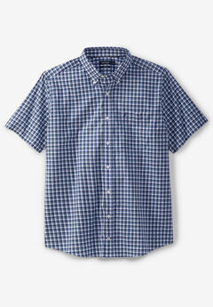 Nautica® Wrinkle-Resistant Short-Sleeve Button Down Shirt,