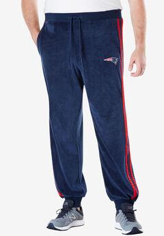 NFL® Velour Track Pants , PATRIOTS