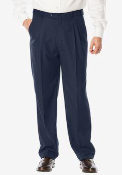 Performance Expandable Waist Plain-Front Pant ,