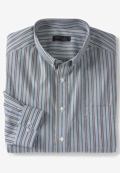 No Hassle® Long-Sleeve Button-Down Collar Dress Shirt by KS Signature®,