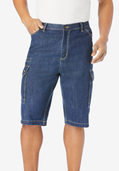 Liberty Blues™ Denim Cargo Shorts,