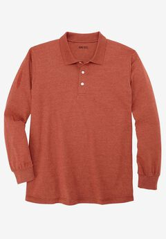 Shrink-Less™ Long Sleeve Polo,