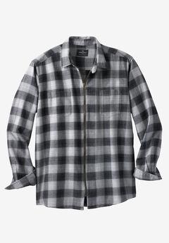 Check Zip Shirt by Replika®,