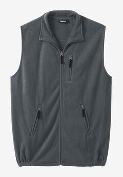 Fleece Zip Vest,