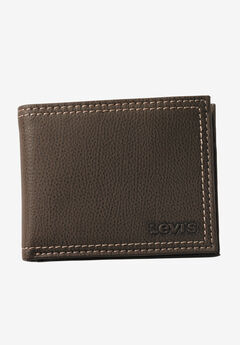 Leather Slimfold Wallet by Levis®,
