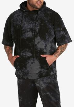 Mvp Collections® Tie-Dye Short-Sleeve Hoodie,