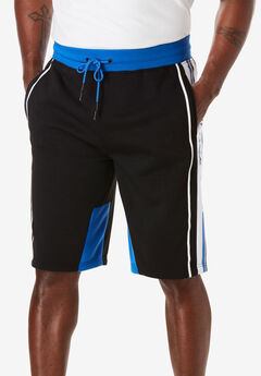 Roc Stripe Knit Fleece Shorts by Rocawear®,