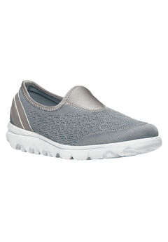 TravelLite Slip-on Sneaker by Propet®, SILVER