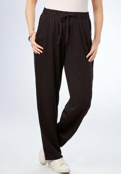 Straight Leg Soft Knit Pant,