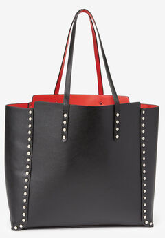 Studded Tote Bag,