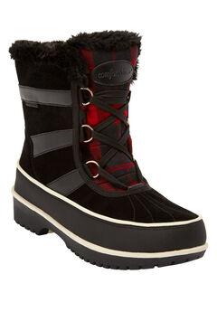 The Brienne Waterproof Boot by Comfortview®, BLACK