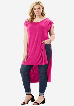 High-Slit Drape Ultra Tunic,