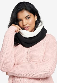 Sherpa Pullover Scarf,