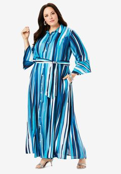Maxi Shirtdress,