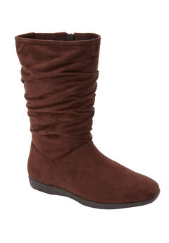 The Aneela Boot by Comfortview®, BROWN