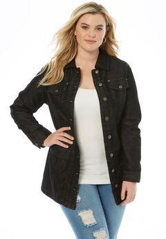 Long Jean Jacket,