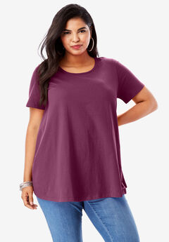 f2eecacc6b943 Plus Size Short Sleeve Tops   T-Shirts for Women