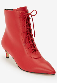 The Jocelyn Bootie by Comfortview®, BRIGHT RUBY