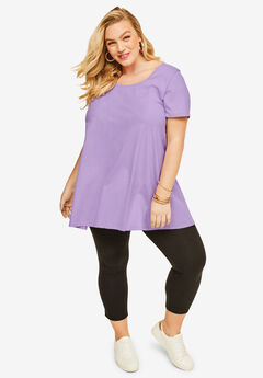 e2a68be67a0 Scoopneck Trapeze Ultimate Tunic