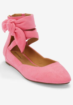 Noreen Flats by Comfortview®, LIGHT STRAWBERRY