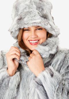 Faux Fur Hat,